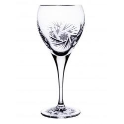Broušené sklenice na bílé...