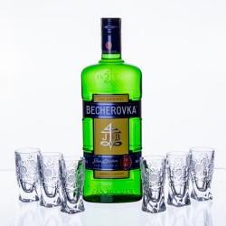 Becherovka 0,7l a 6ks...