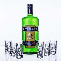 Becherovka 0,7l a 6ks...