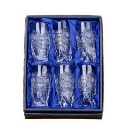 Broušené skleničky na panáky (vysoké) 50ml, Klasika