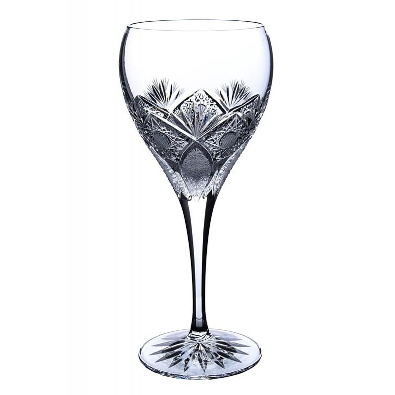 Broušené skleničky na víno 270ml, Exclusive