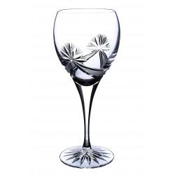 Broušené skleničky na víno 340ml, Mašle