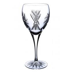 Broušené skleničky na víno 340ml, Větrník