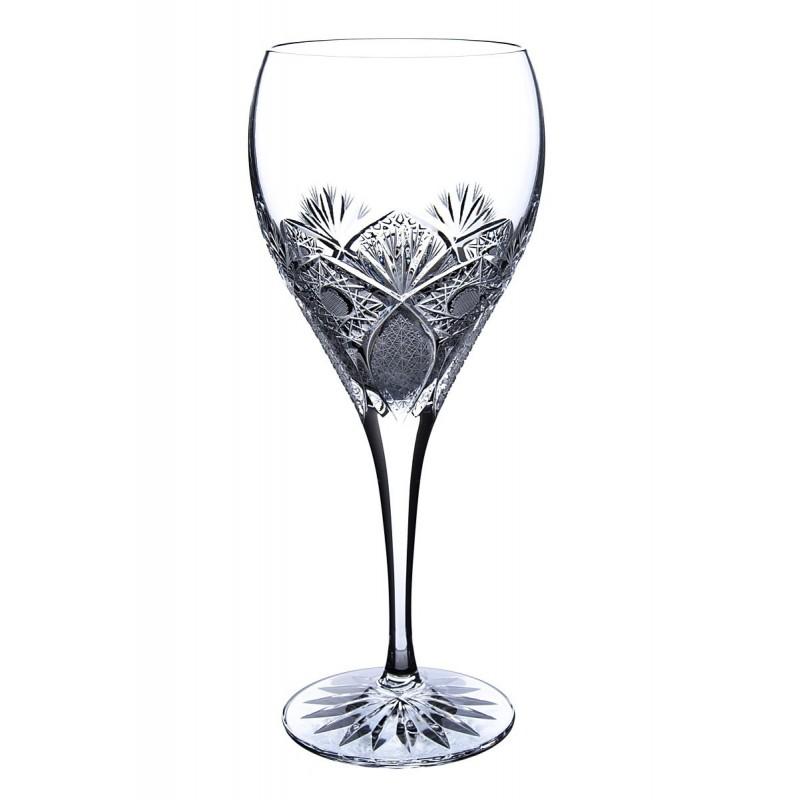 Broušené skleničky na víno 420ml, Exclusive