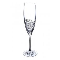 Broušené sklenice na sekt 200ml, Kometa