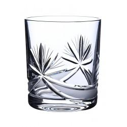 Broušené skleničky na whisky 330ml, Mašle