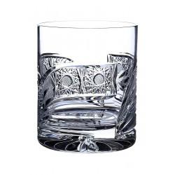 Broušené skleničky na whisky 330ml, Kometa