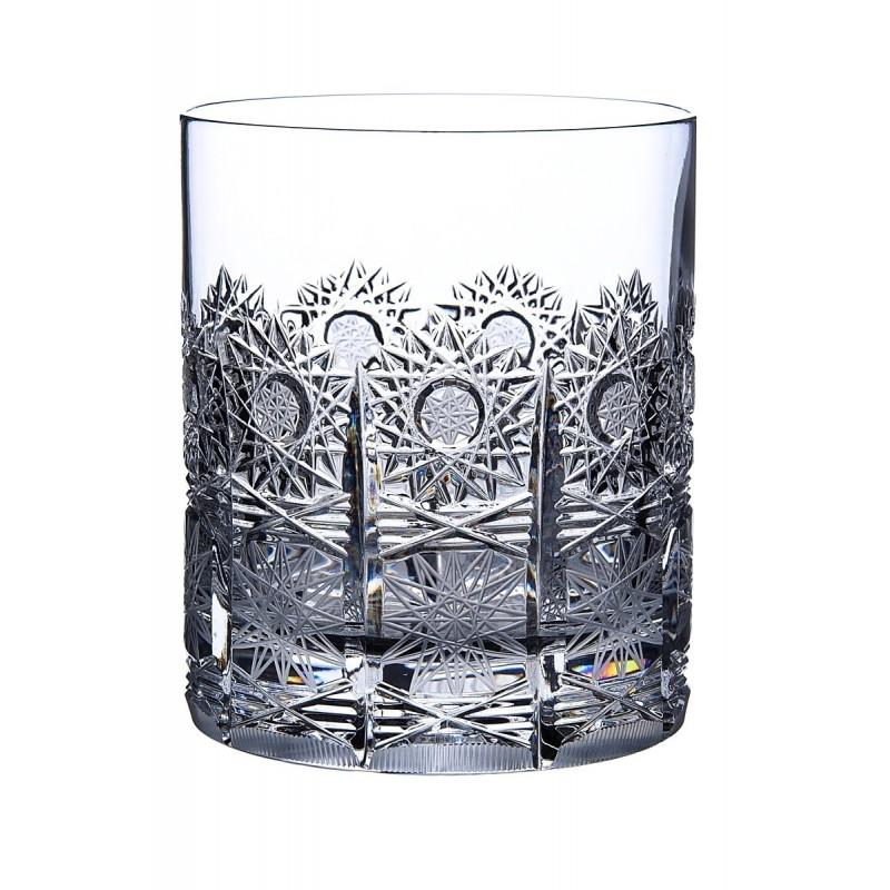 Broušené skleničky na whisky 330ml, Klasika