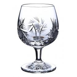 Broušené skleničky na rum/brandy/koňak, Větrník