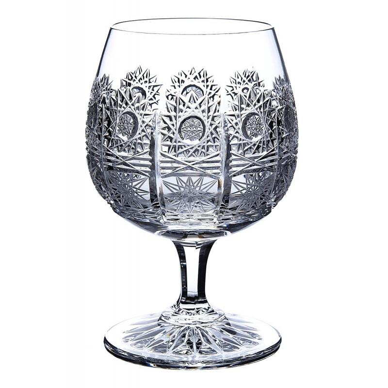 Broušené skleničky na rum/brandy/koňak, Klasika