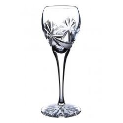 Broušené skleničky na likér 90ml, Mašle