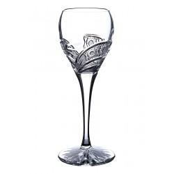 Broušené sklenice na likér 90ml, Kometa