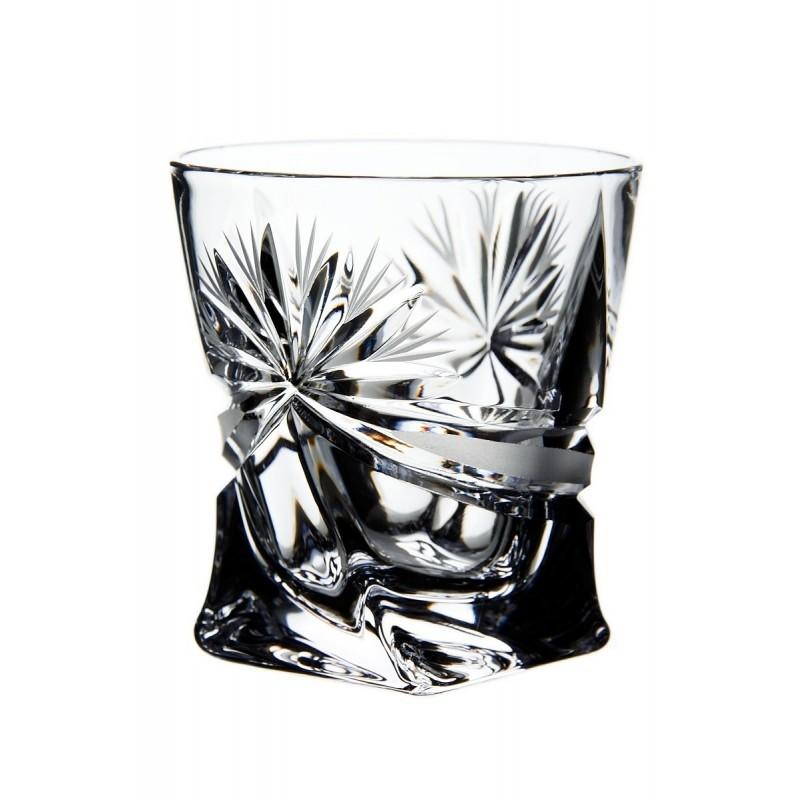 Broušené skleničky na panáky (vysoké) 50ml, Mašle