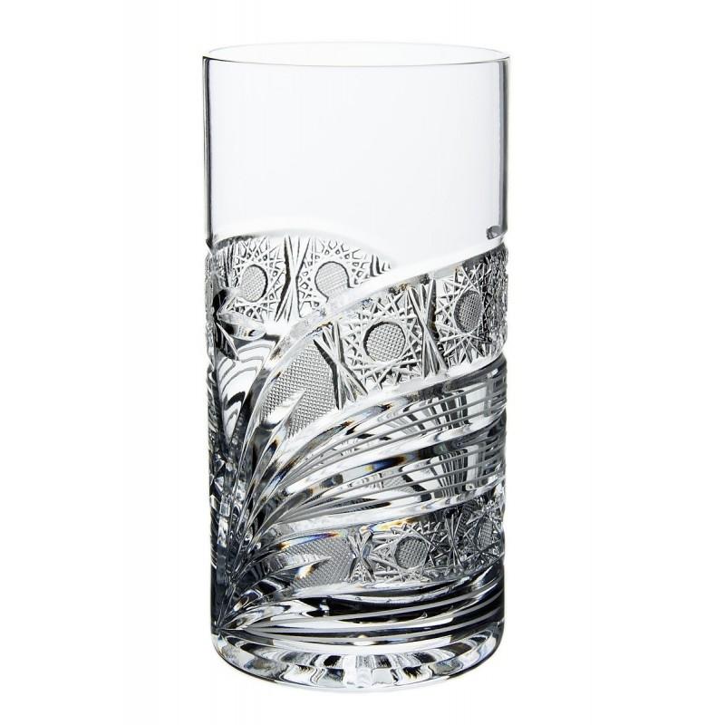 Broušené skleničky na vodu 380ml, Kometa