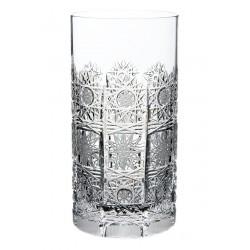 Broušené skleničky na vodu 380ml, Klasika