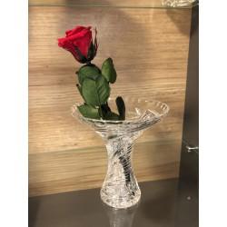 Broušená váza 80080-205, Kometa