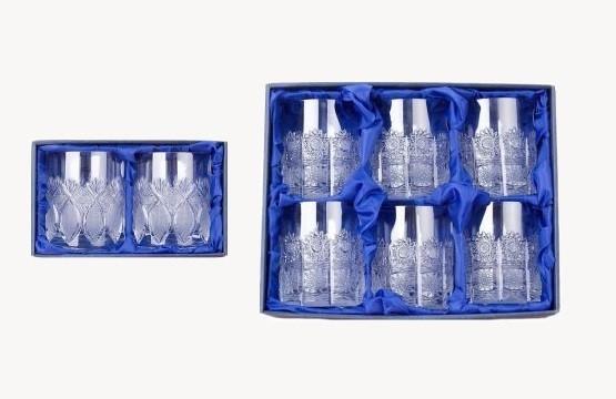 Bohemia Crystal whiskové skleničky