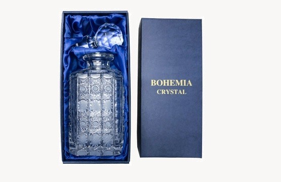 Bohemia Crystal broušené karafy na whisky