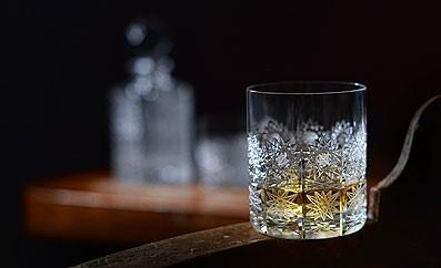Broušené skleničky
